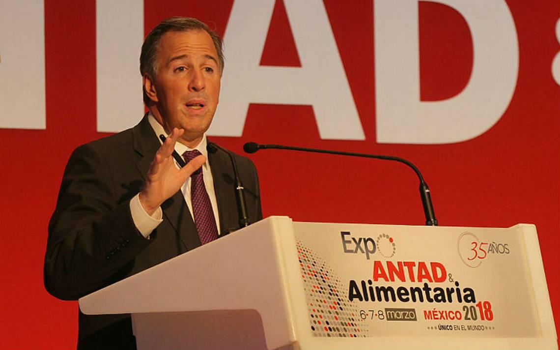 Meade: Hay que mejorar servicios aduanales, distribución y seguridad para no depender del TLCAN