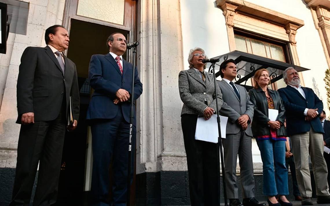 """""""Ya inició la transición de manera formal"""", dice Olga Sánchez tras reunión con Alfonso Navarrete"""