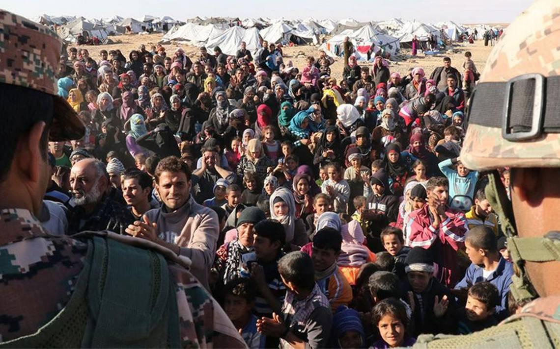 Hay 65.6 millones de desplazados forzados en el mundo; 34% son refugiados