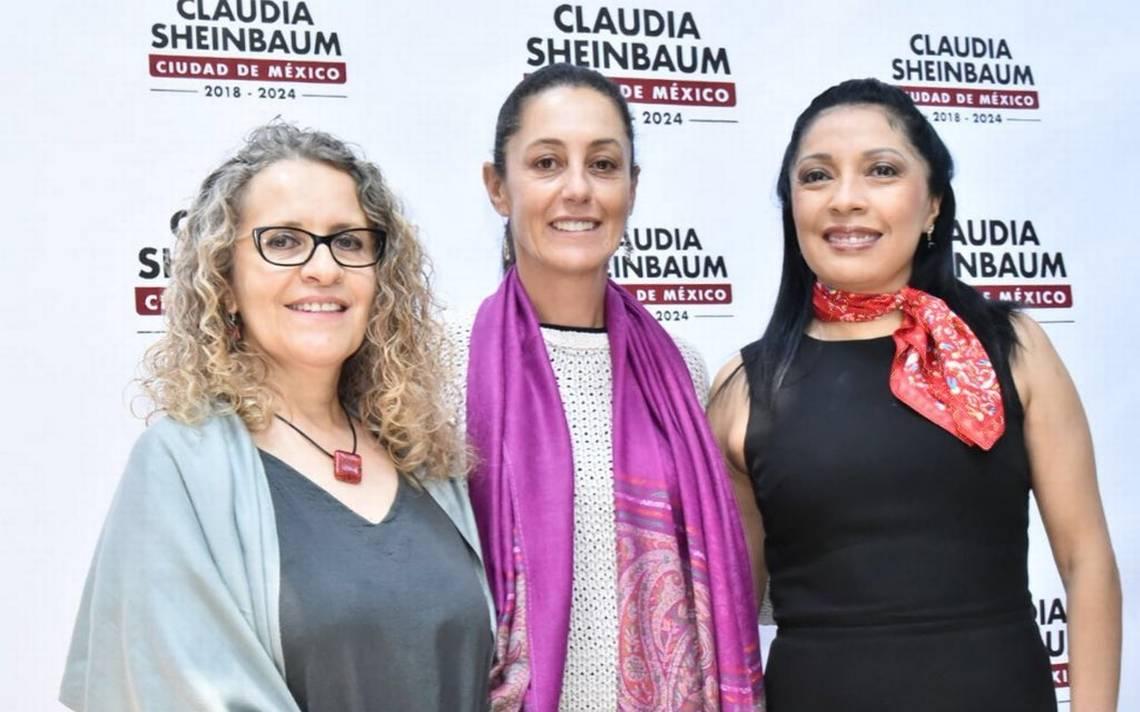 Sheinbaum presenta a las próximas funcionarias del DIF y Evalúa