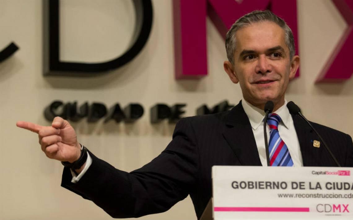 Mancera sin definir su salida del Gobierno de la CDMX