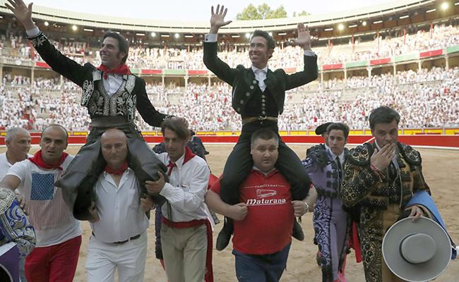 Triunfo de seis orejas en la fiesta más internacional de España