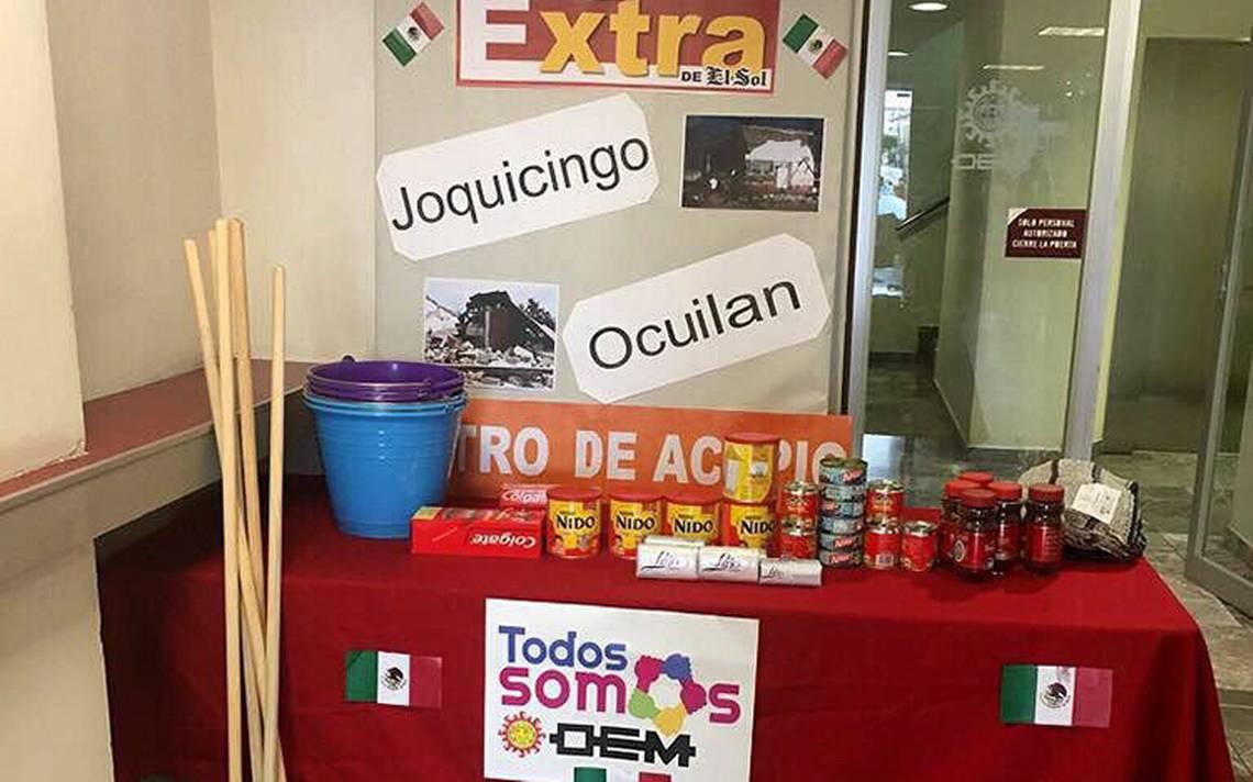 OEM se une a #FuerzaMéxico, estos son los centros de acopio