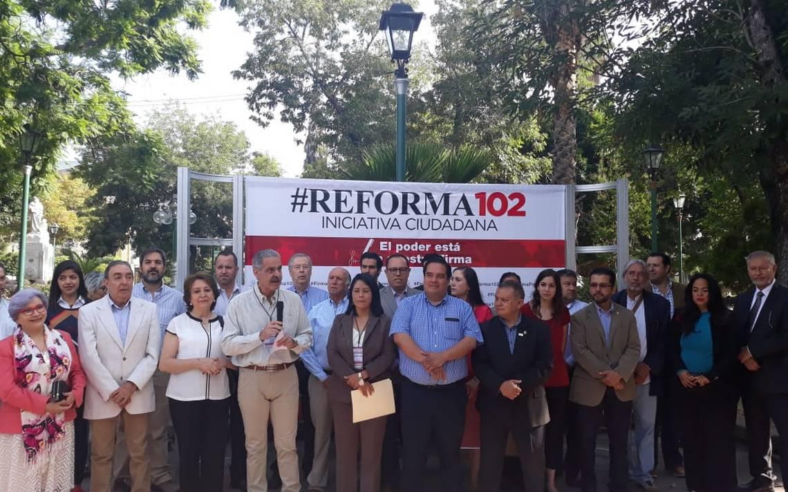 Iniciativa ciudadana #Reforma102 busca una Fiscalía General independiente y moderna