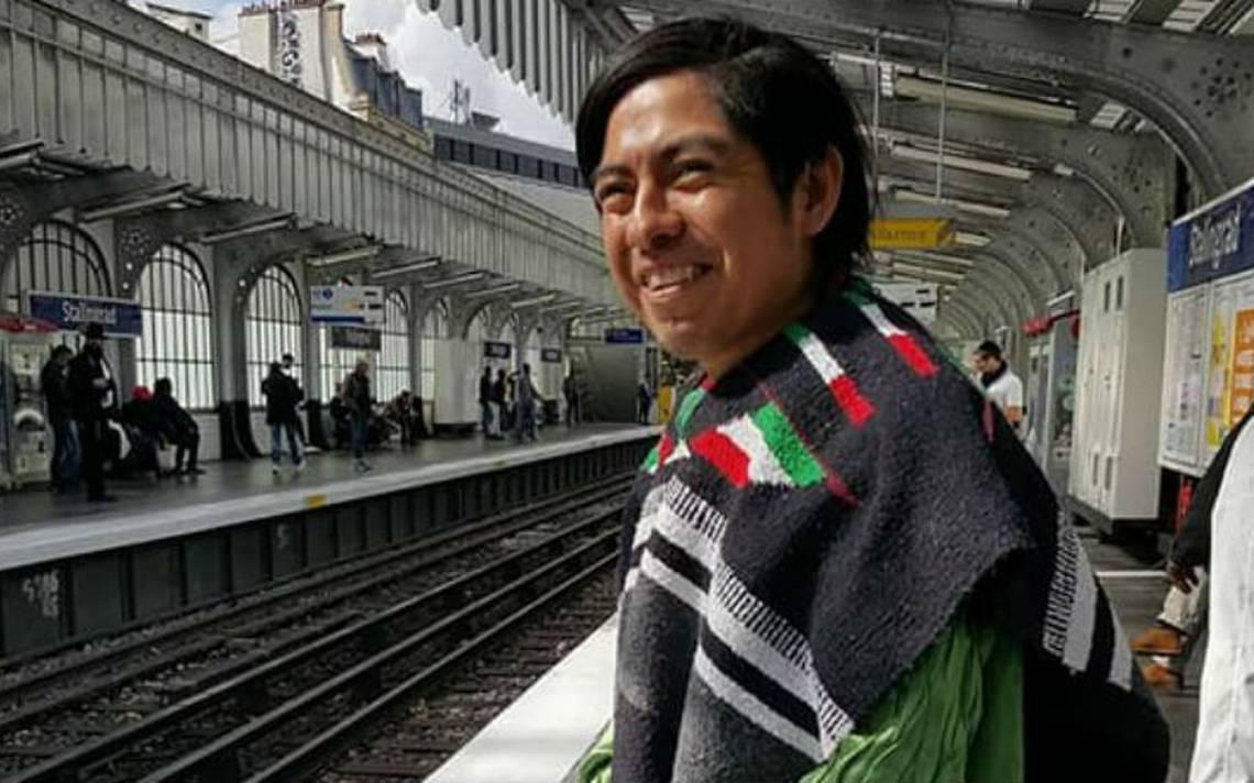 Con su propio dinero, artista triqui lleva su obra a Europa