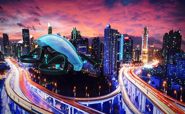 Auto volador de Toyota podría encender llama olímpica en Tokio 2020