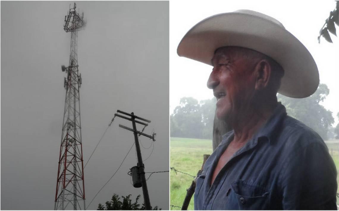 Rayo daña torre de Telcel en Tabasco, hay 15 mil usuarios afectados