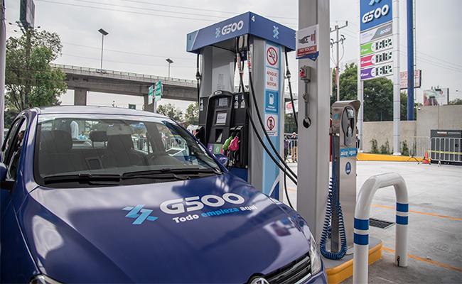 Grupo G500 abre la primera de las mil 400 gasolineras, en Tlalnepantla, EdoMex