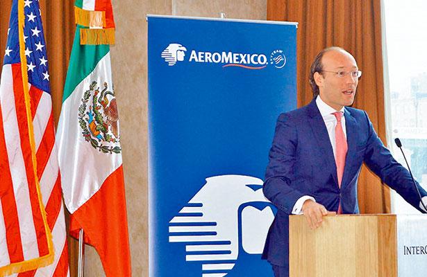 Aeroméxico anuncia nuevos vuelos a Estados Unidos