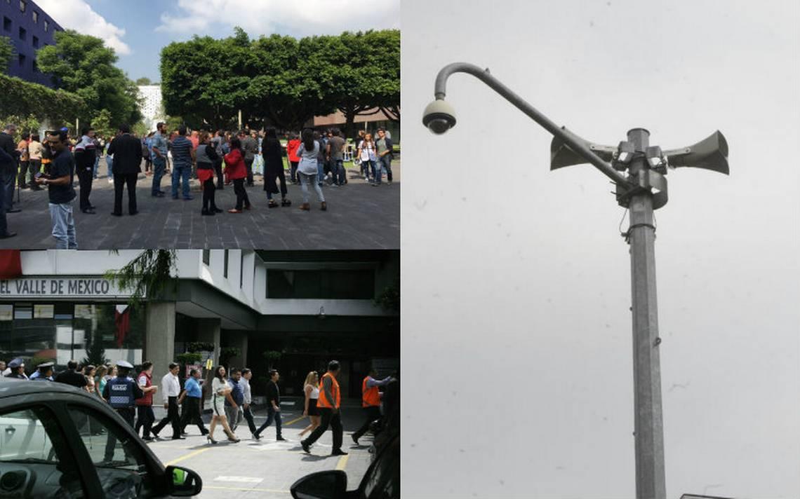 Capitalinos participan en megasimulacro de sismo