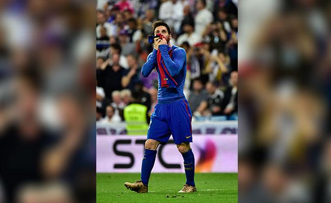 """[Video] """"Barça"""" celebra a Messi por su gol número 500"""