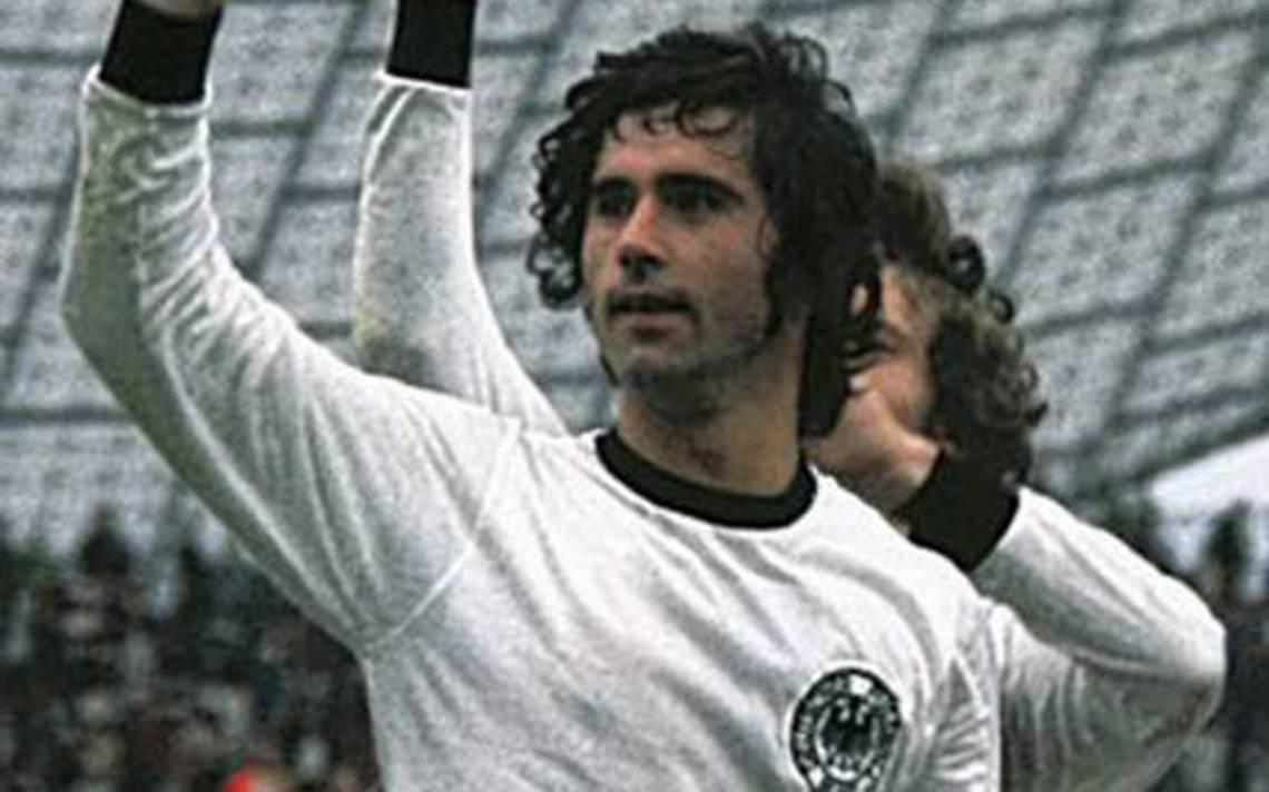 "Gerd Müller el ""Bombardero"" alemán"