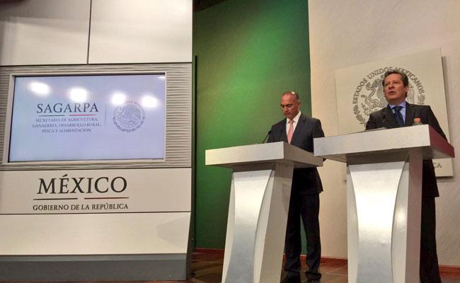 México recibe más divisas por productos agrícolas que por petróleo: Eduardo Sánchez