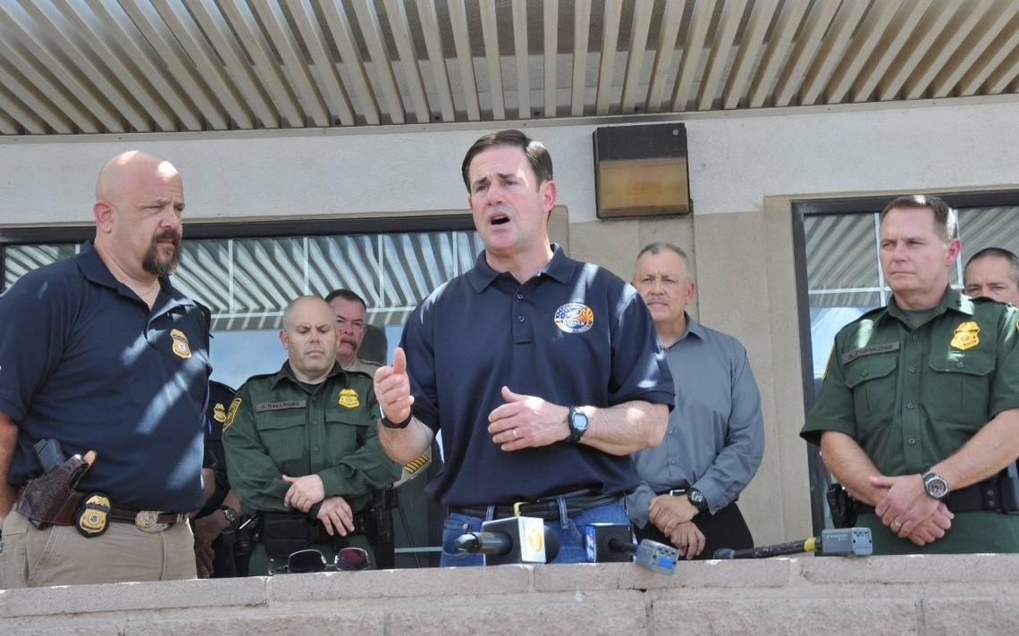Gobernador de Arizona supervisa investigación de narcotúnel en la frontera