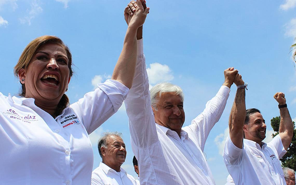 Judith Díaz, será la coordinadora del Gobierno Federal y todas sus dependencias en Nuevo León