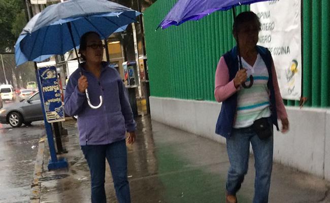 Pronostican lluvias de diferente intensidad en todo el país