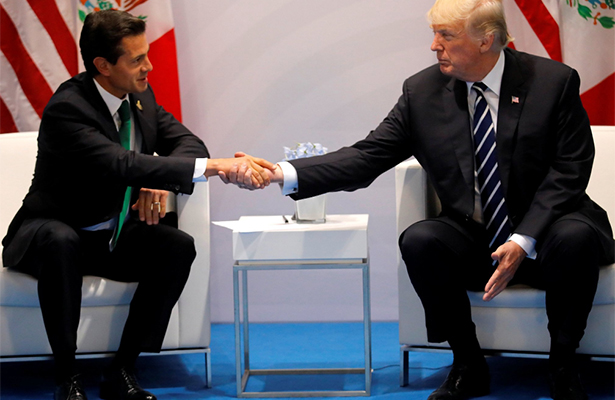 Trump llamará al presidente Peña Nieto para hablar sobre temblor: Casa Blanca
