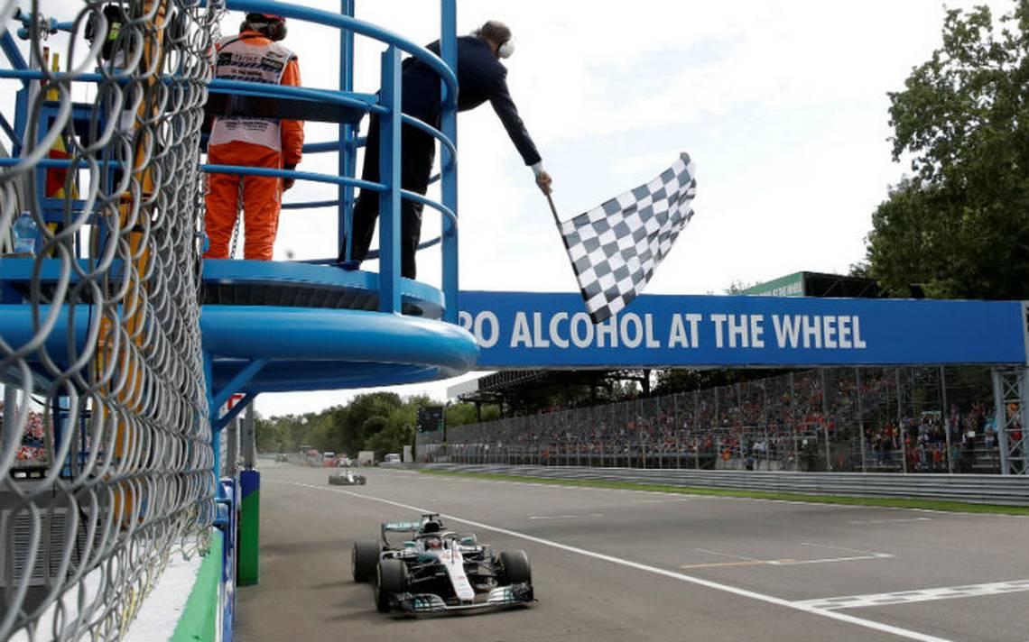 Hamilton refuerza su liderato al ganar el Gran Premio de Italia