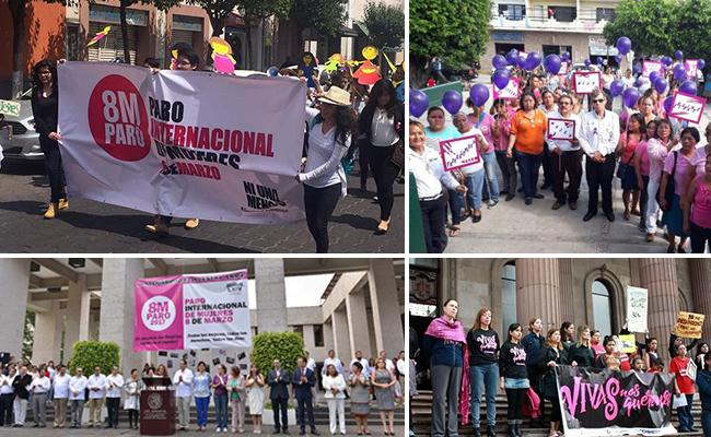 México conmemora #DíaDeLaMujer