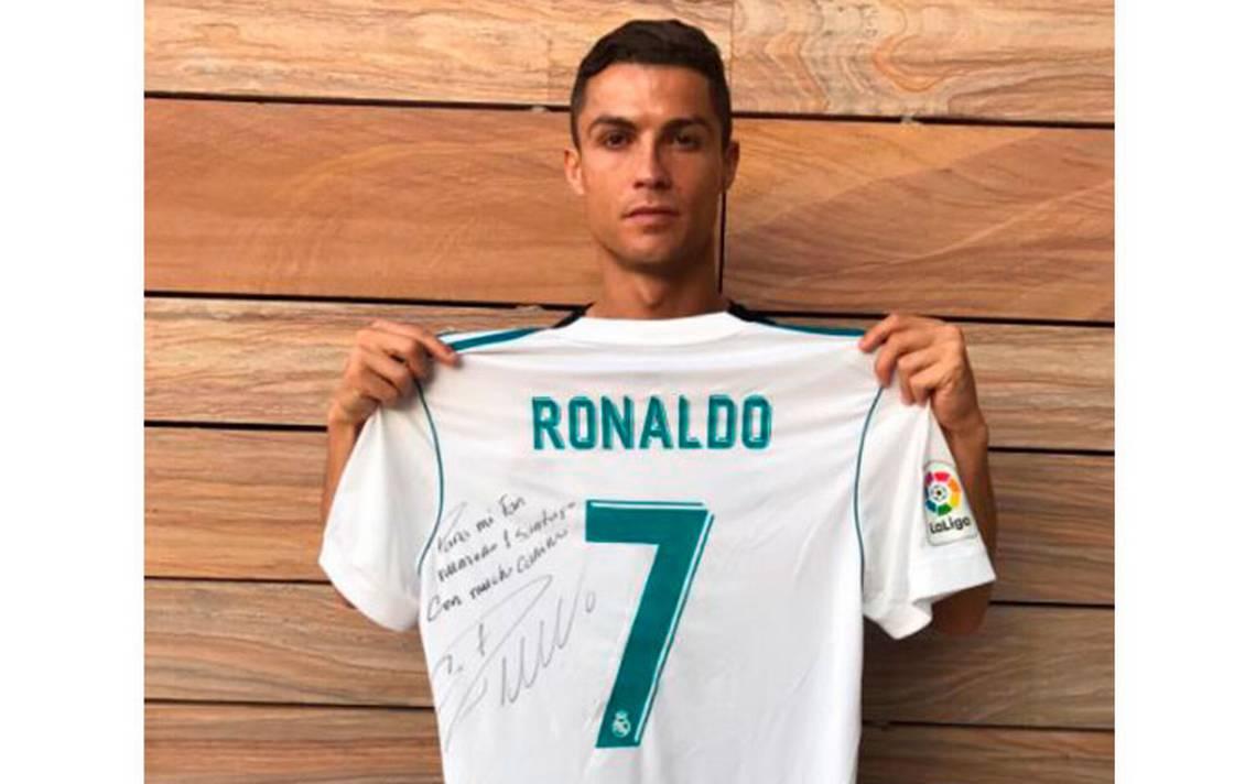 Cristiano Ronaldo envía mensaje a familia de niño del Rébsamen que murió en sismo