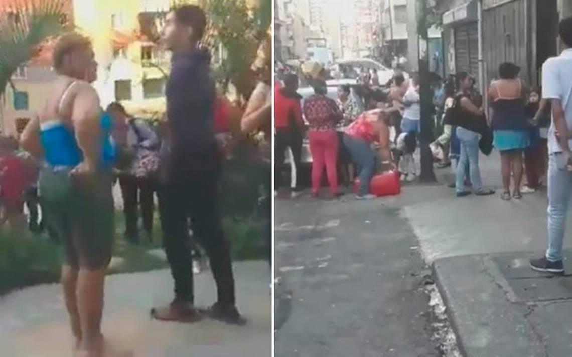 Videos revelan cómo se vivió el fuerte sismo en Venezuela