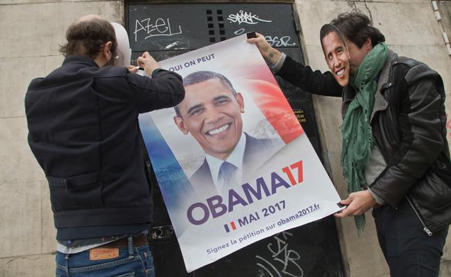 Exhortan a Obama sumarse a la contienda presidencial en Francia