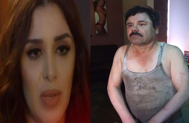 La miró y sonrió… El Chapo se reencuentra con Emma Coronel