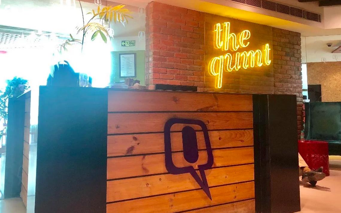 Policía allana oficinas del sitio web The Quint en India