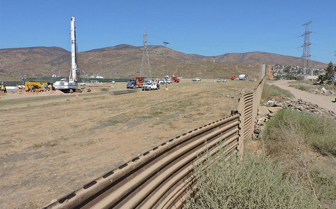 Autoridades en Tijuana blindan zonas cercanas a construcción del muro