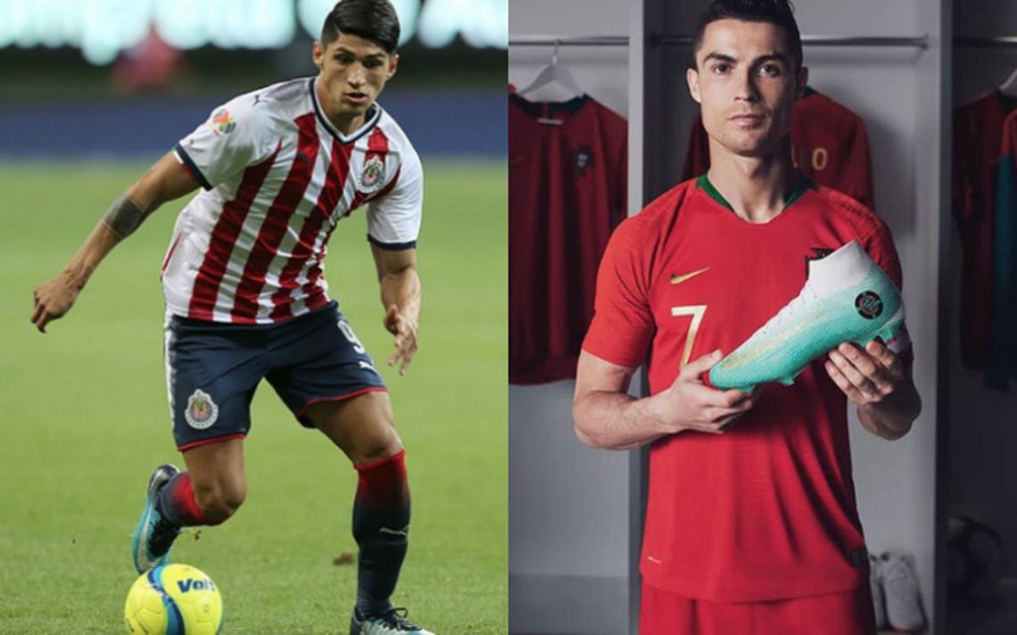 Alan Pulido se compara con ¡Cristiano Ronaldo!