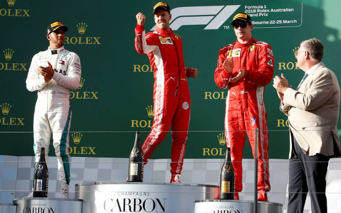 Vettel supera a Hamilton y se lleva el Gran Premio de Australia