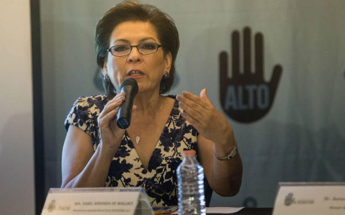 Miranda de Wallace exige a candidatos presidenciales estrategia para erradicar el secuestro