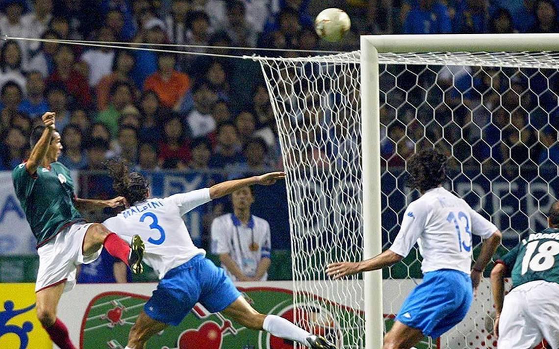 El Mundial de Corea-Japón donde Jared Borgetti, le marcó un tanto a los italianos
