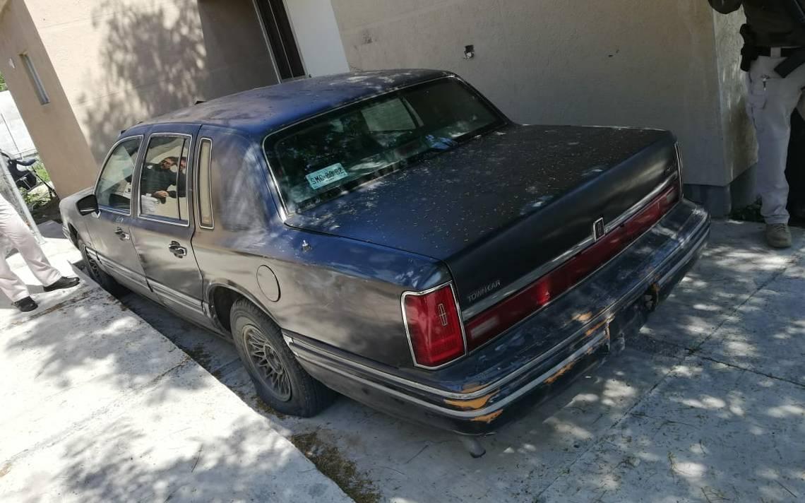 Este es el auto que casi atropella a barra del Tigres en Monterrey