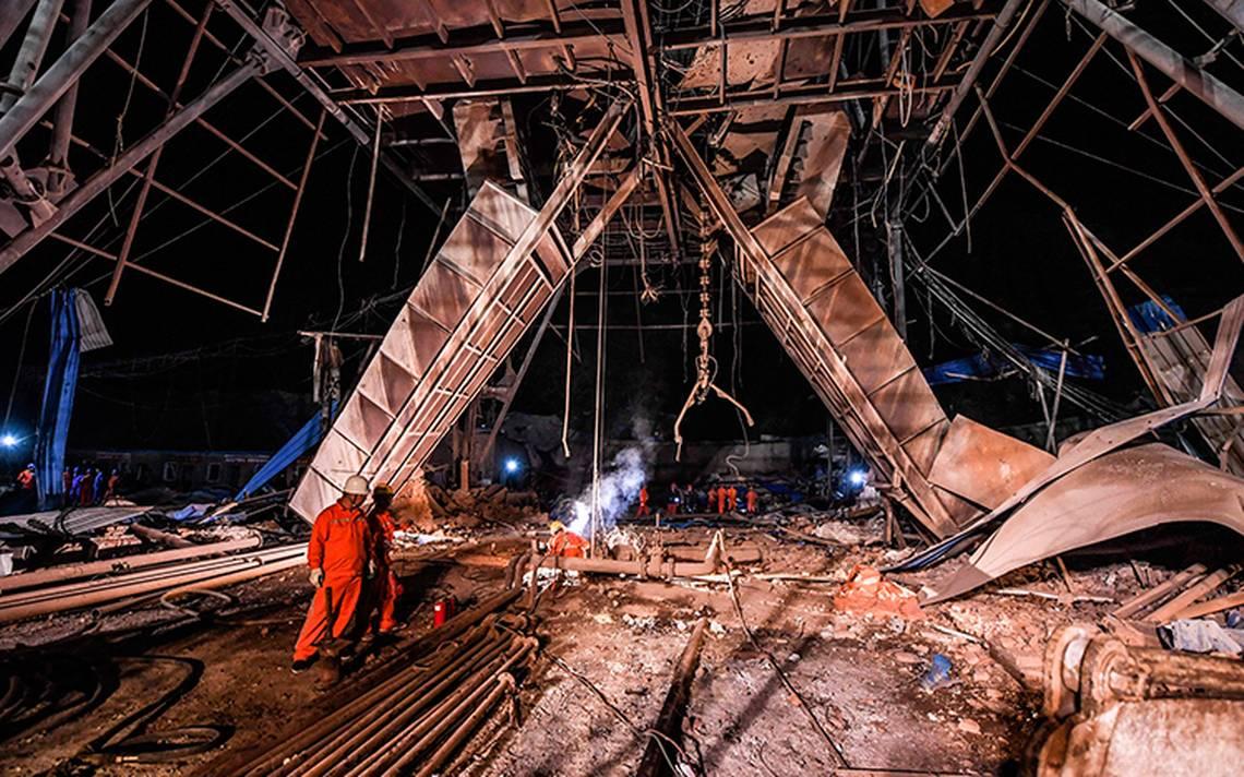 Explota mina en China: hay 11 muertos y 25 atrapados