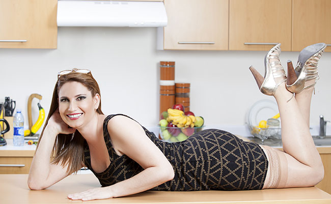 Lisi Esnaurrizar está soltera y… en la cocina
