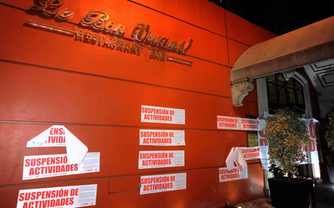 Cierran dos clubs nocturnos en la CDMX por trata y narcomenudeo