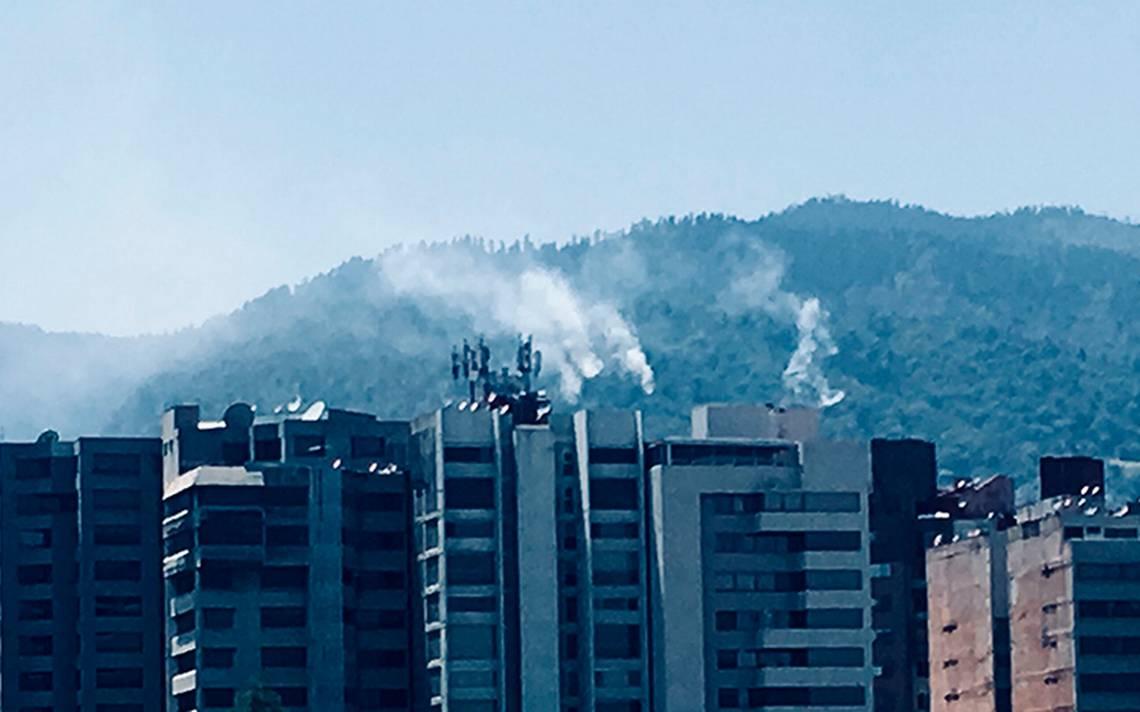Reportan incendio forestal en Los Dinamos; cuerpos de emergencia ya laboran en la zona