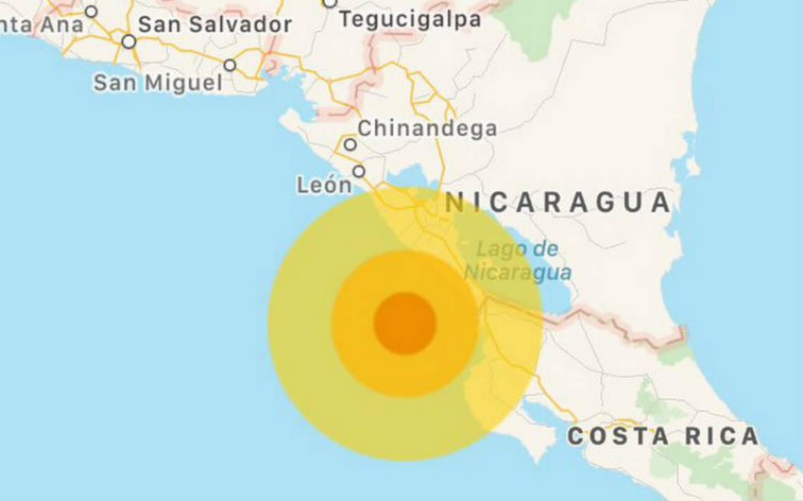 Sismo sacude Nicaragua, sin reportes inmediatos de daños
