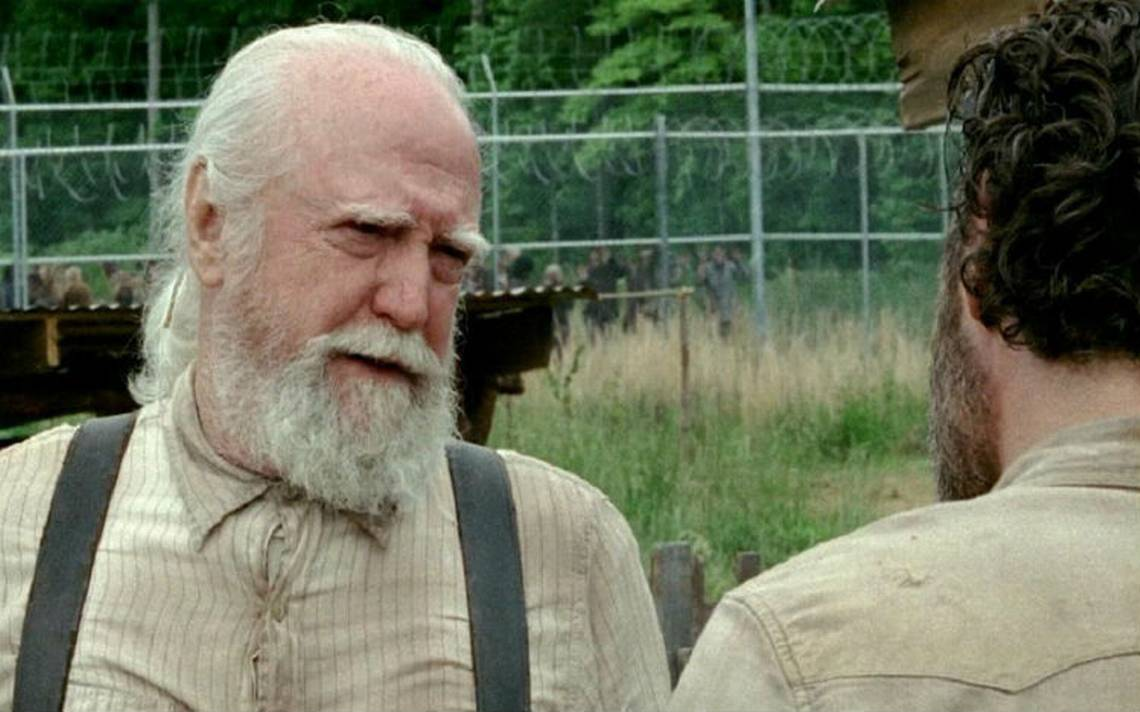 Fallece Scott Wilson, quien interpretA? a Herschel en The walking dead
