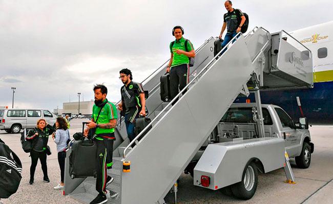 Tricolor llega a Denver para su siguiente partido contra Jamaica