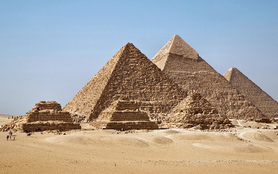 Pirámide de Giza ¡sí puede concentrar energía!
