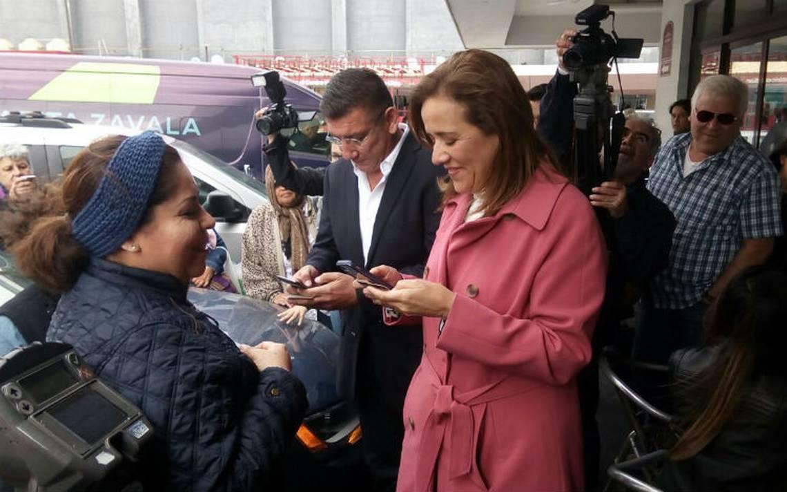 Seguiré en la contienda y le ganaré López Obrador: Margarita Zavala