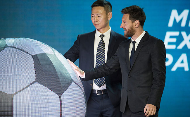 ¡Messi tendrá nuevo parque de atracciones en China!
