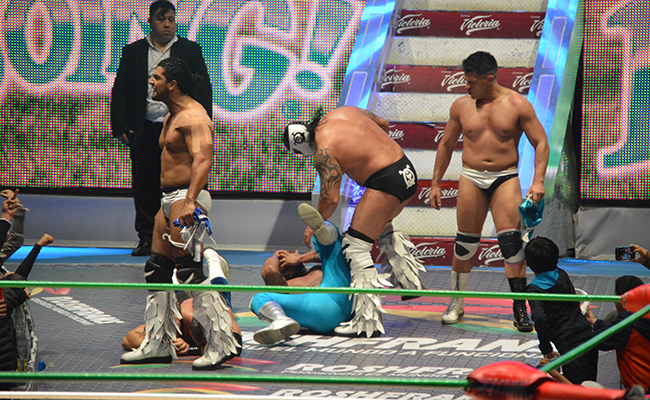 "Diamante Azul sacó lo ""ingobernable"""