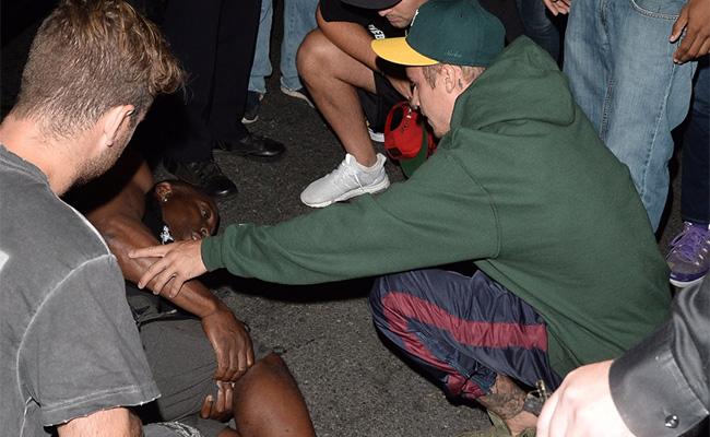 Fue un accidente, Bieber es un buen chico: fotógrafo atropellado