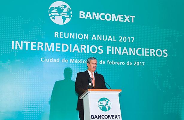 """Bancomext está """"bien armado"""" para diversificar exportaciones mexicanas"""