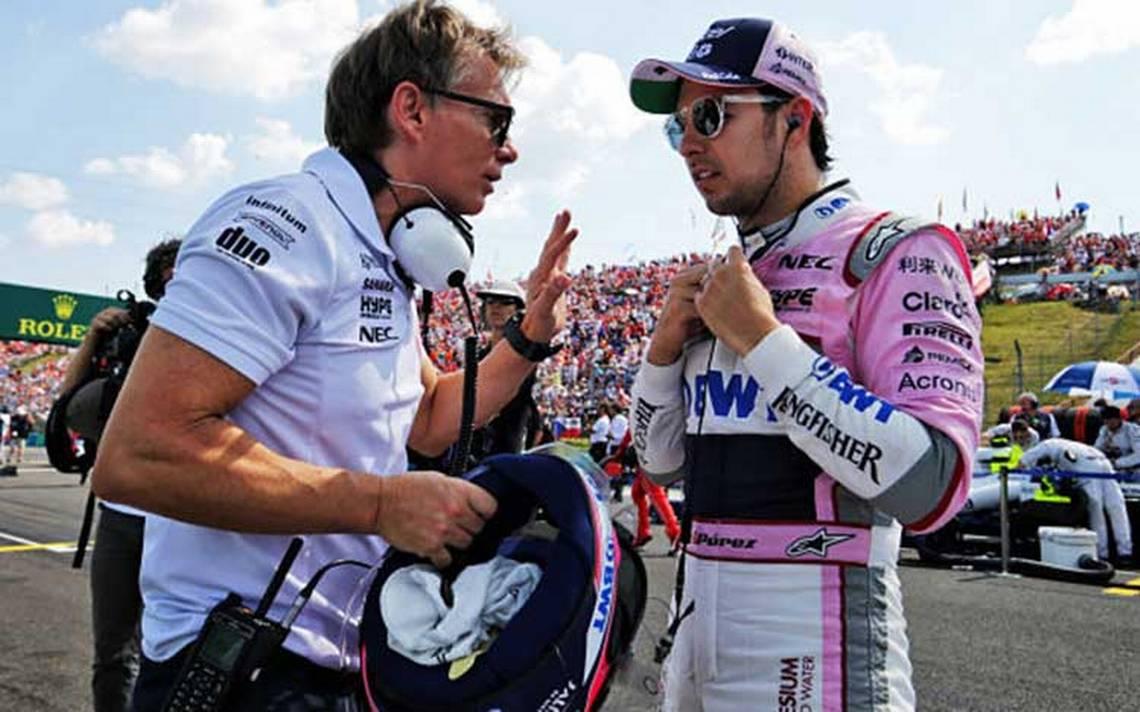 Sergio Pérez enfocado en competir en el Force India