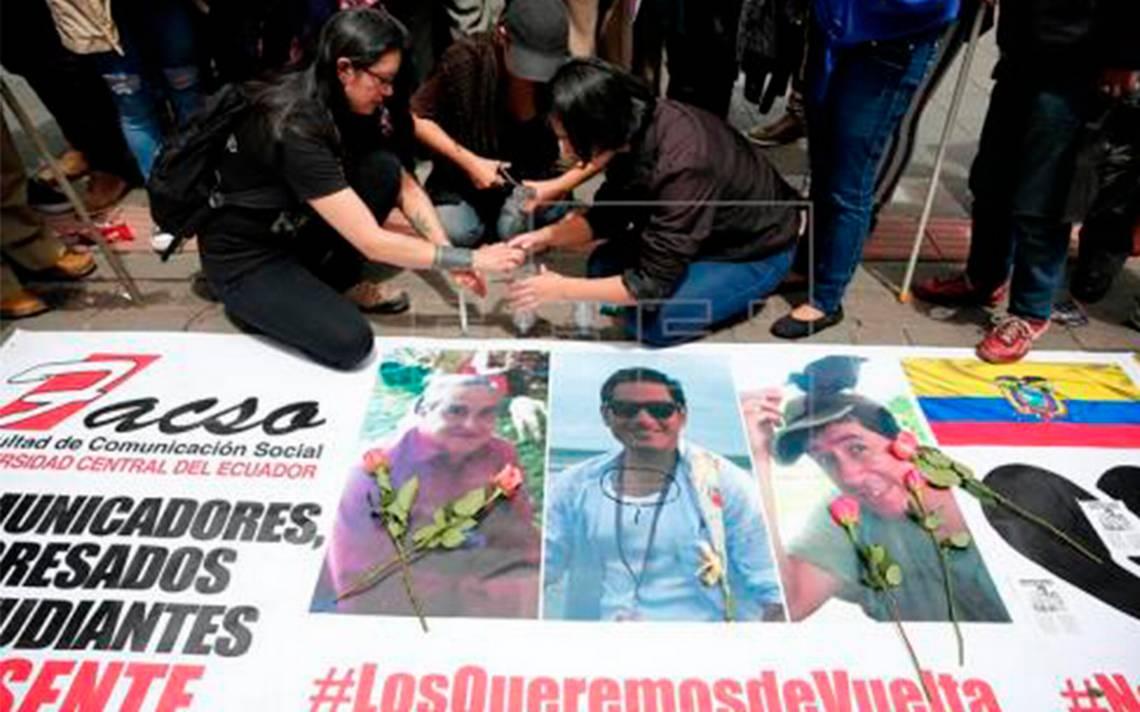 En Colombia son encontrados los cuerpos de tres periodistas ecuatorianos