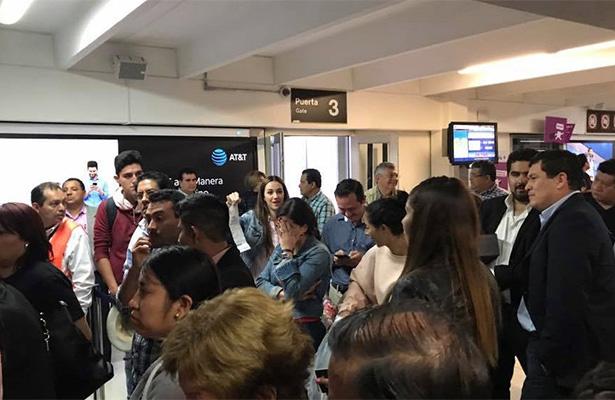 A pesar del retraso de 13 horas, Interjet no compensará a pasajeros